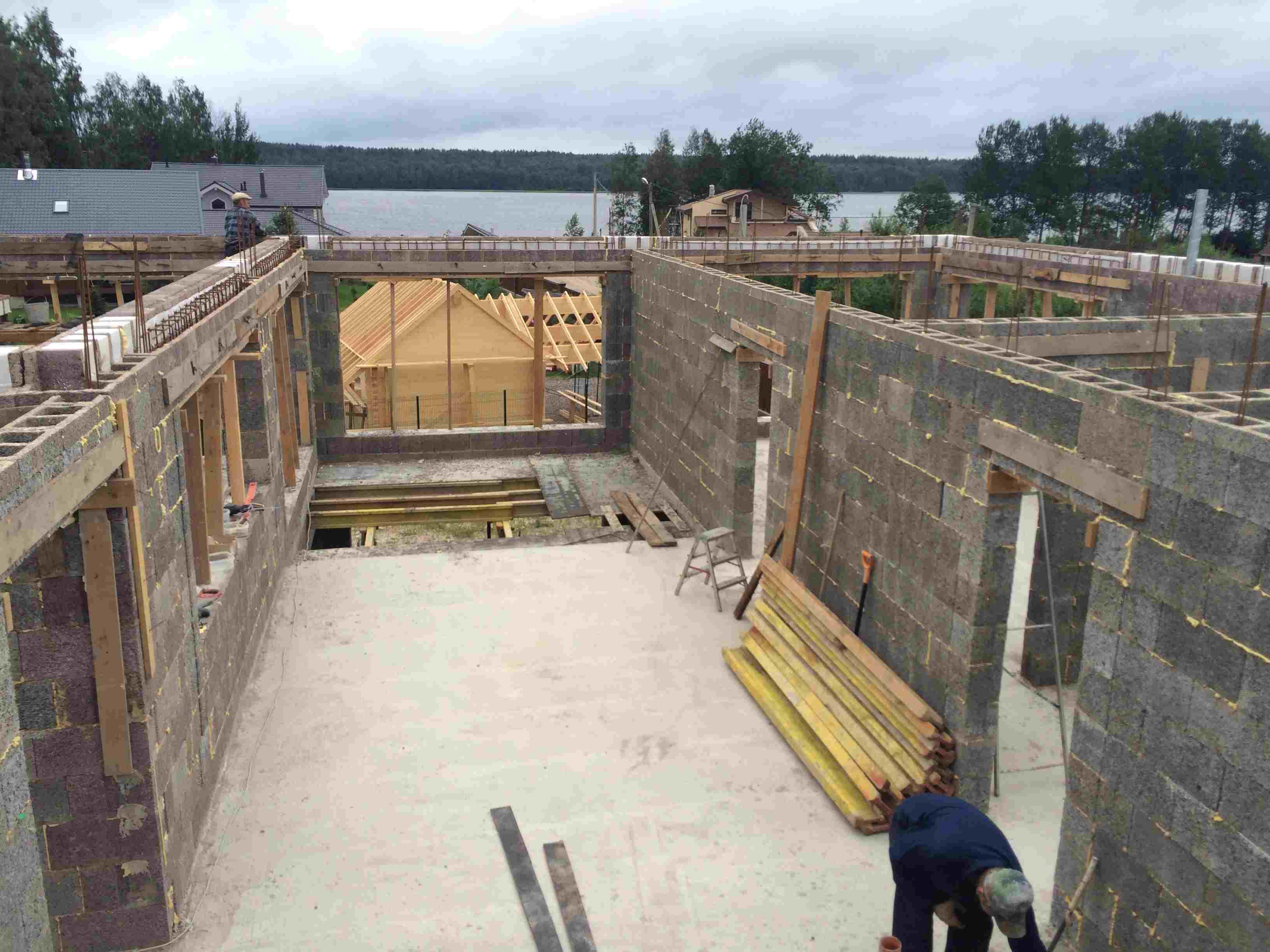 Дом из опилкобетона своими руками - как построить дом 82